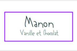 Manon Vanille et chocolat