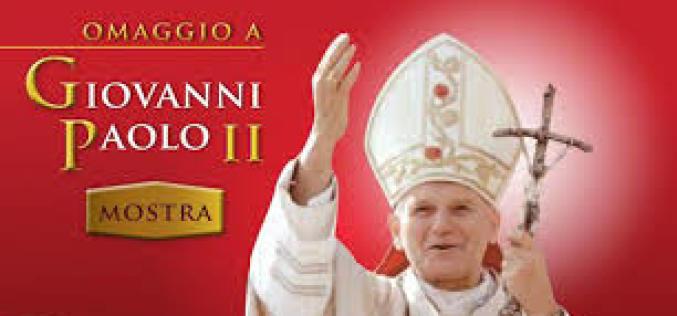 OMAGGIO A GIOVANNI PAOLO II, I PRESEPI E LE RELIQUIE