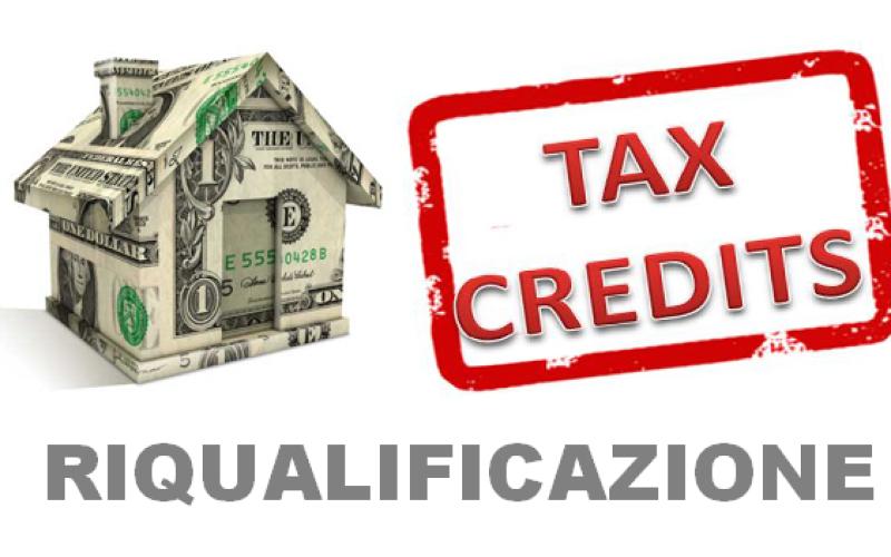 Tax credit riqualificazione – modalità e termini per la presentazione dell'istanza