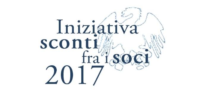 Iniziativa sconti fra i soci 2017