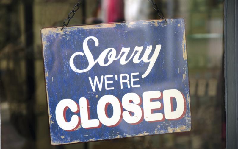 Chiusura uffici per pausa estiva