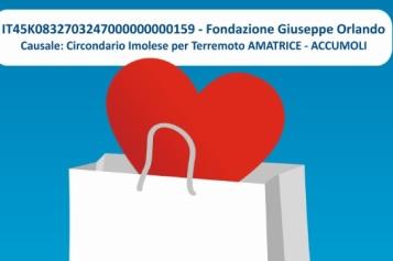 Iniziativa a sostegno delle popolazioni e delle attività colpite dal terremoto di Amatrice – Accumoli