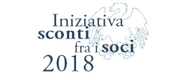 Iniziativa sconti fra i soci 2018