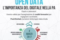 4 marzo 2017: Imola Open Data Day – l'importanza del digitale nella p.a.