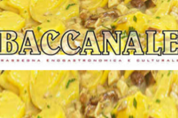BACCANALE 2017: menù e proposte