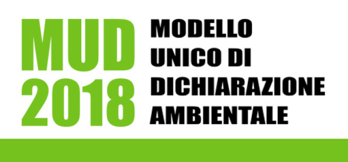 Mud 2018 – Modello Unico di Dichiarazione Ambientale