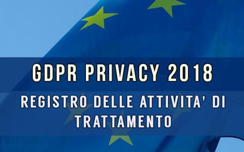 Privacy: Importanti novità per il registro di trattamento dei dati