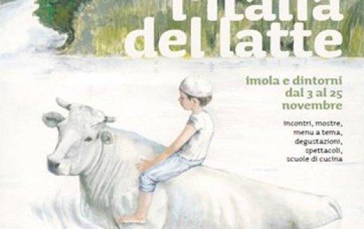 """Il tema del """"Baccanale 2018″, in programma dal 3 al 25 novembre a Imola e nel Circondario Imolese, è """"l'italia del latte"""""""