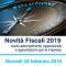 Seminario gratuito sulle NOVITA' FISCALI 2019 – giovedì 28 febbraio
