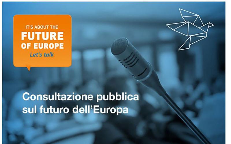 Come ti immagini l'Europa del futuro? – Consultazione pubblica sul futuro dell'Europa