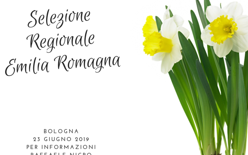 FEDERFIORI: Coppa Italia – selezione regionale il 23 giugno 2019