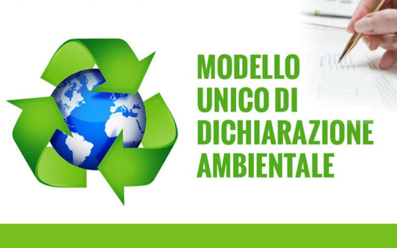 Mud 2019 – Modello Unico di Dichiarazione Ambientale