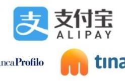Convenzione con Tinaba – Alipay
