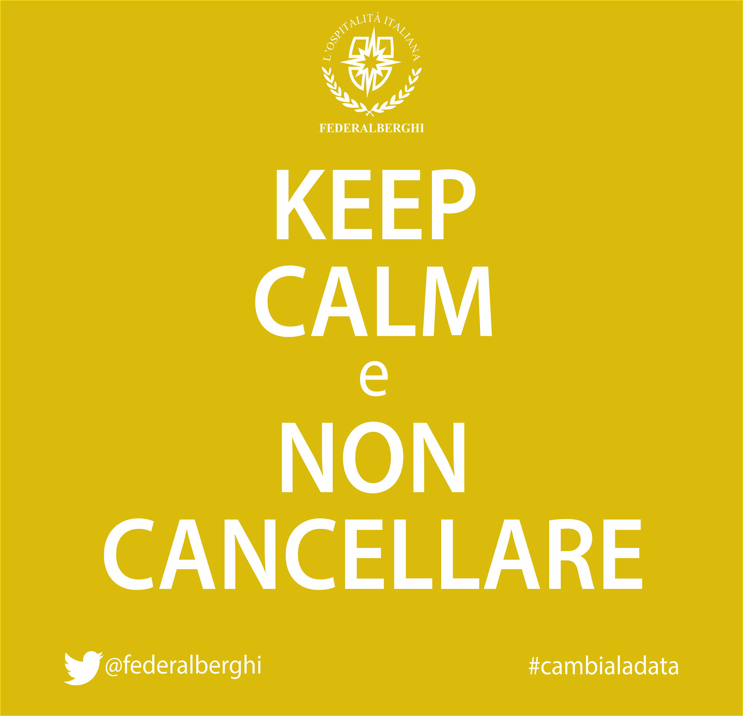keep calm cambia la data giallo it