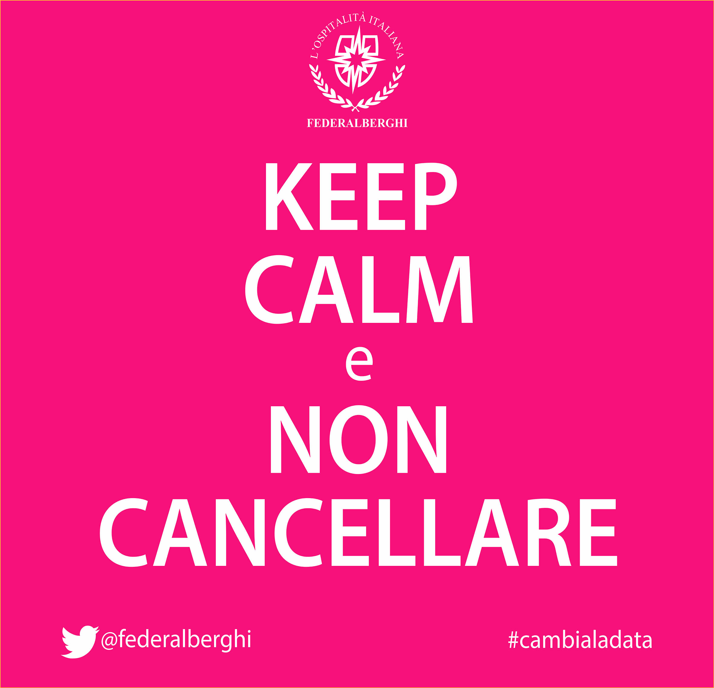 keep calm cambia la data red it
