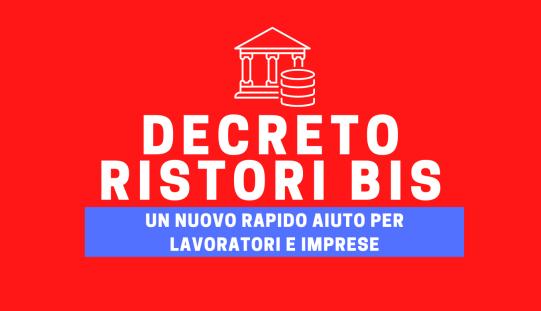 DECRETO RISTORI-BIS