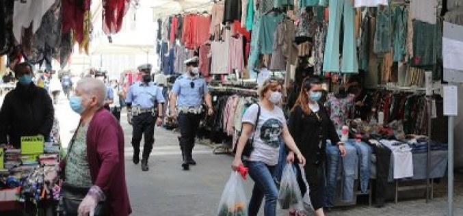 Mercato ambulante trisettimanale: da domani l'avvio in sicurezza secondo le nuove disposizioni.