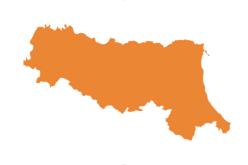 Emilia Romagna in zona arancione dal 9 al 15 gennaio