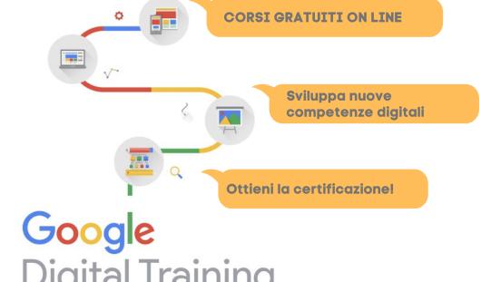 GOOGLE – STRUMENTI DIGITALI GRATIS AI COMMERCIANTI ITALIANI