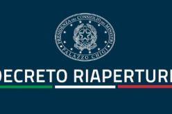 DECRETO RIAPERTURE E ZONA GIALLA