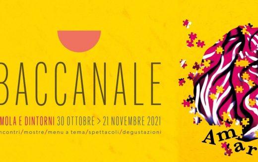 """Baccanale 2021: il tema è """"Amaro"""""""